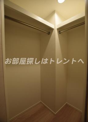【収納】カーサスプレンディッド日本橋水天宮