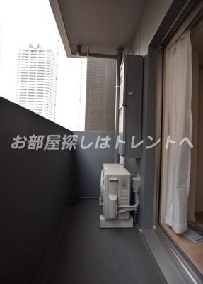 【バルコニー】カーサスプレンディッド日本橋水天宮