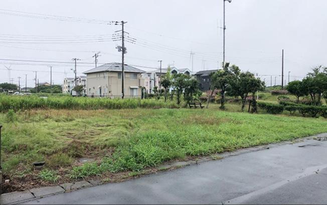 【前面道路含む現地写真】鹿嶋市平井南 新築戸建