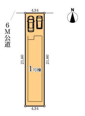 【区画図】MIRASUMO 中村区剣町