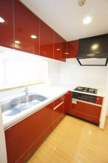 デザインと機能性を兼ね備えた、使いやすいシステムキッチン