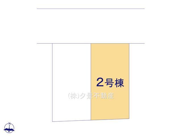【区画図】川口市大字里1175-12(2号棟)新築一戸建てリーブルガーデン
