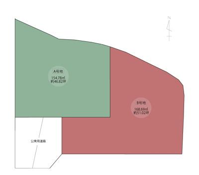 【区画図】高知市前里