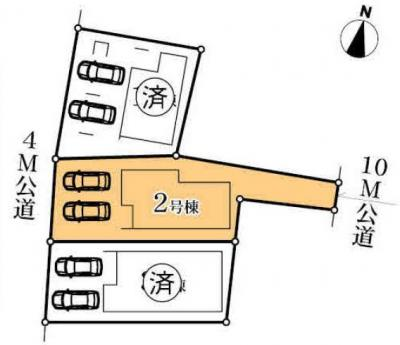 【区画図】MIRASUMO 中村区名駅南