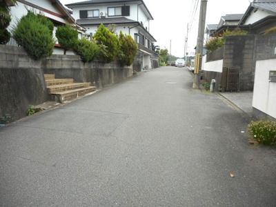 【前面道路含む現地写真】【売地】日進中学校区 56678