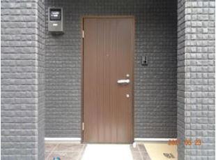 【玄関】パークハイツ富久