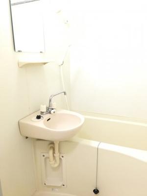 【浴室】レオパレスセラヴィ深大寺