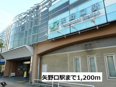 矢野口駅まで1200m