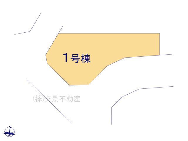 【区画図】川口市大字東本郷1630-1(1号棟)新築一戸建てクレイドルガーデン