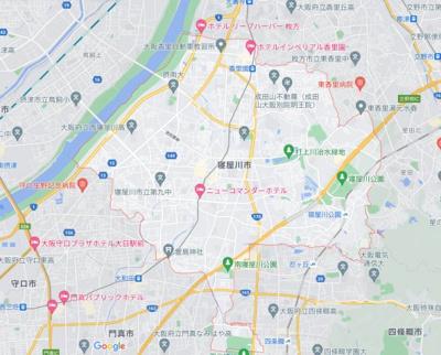 【地図】ハウゼローリエ