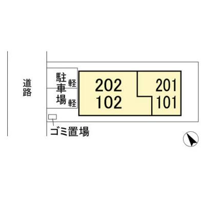 【区画図】ハウオリ/ラ メゾン ド ソレイユ ラ メゾン ド ソレイユ