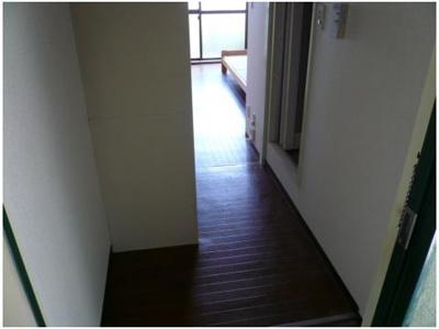 【玄関】松が丘エンビイマンション