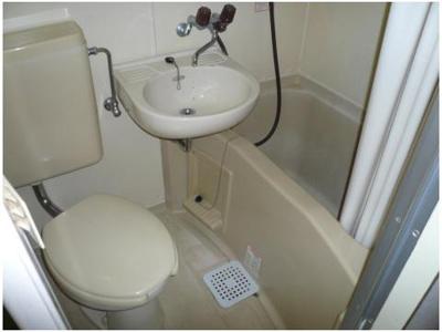 【浴室】松が丘エンビイマンション