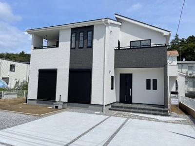 【外観:施工例】リーブルガーデン上三川町しらさぎ第6 新築一戸建て