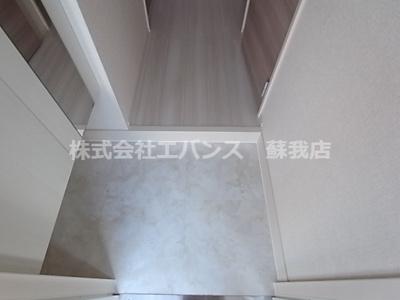 【玄関】ベルフォーレ千葉寺