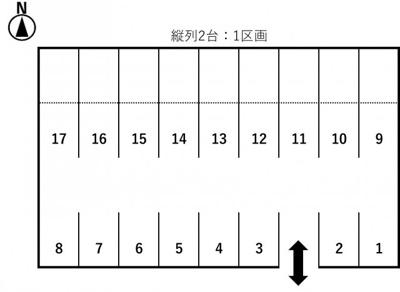 【区画図】東栄町駐車場Y