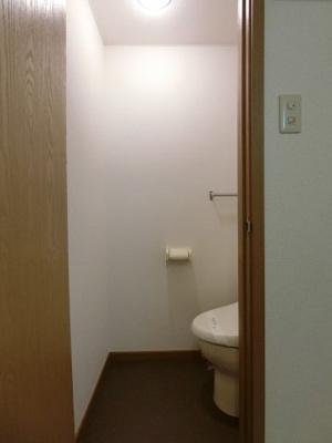 【トイレ】エレガントヴィラⅡ