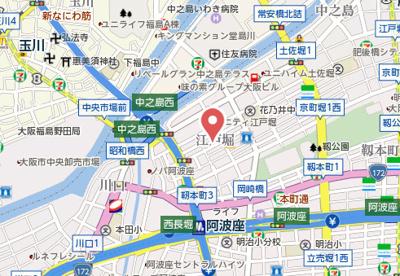 【地図】グリッド