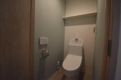 【トイレ】閑静な住宅街にたん誕生した新築物件 カーサ麻布 ル・グラン