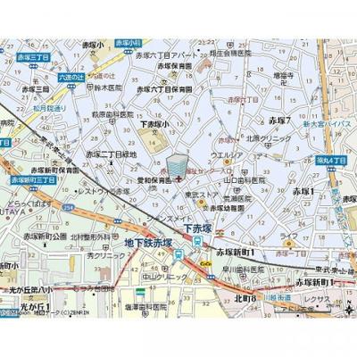 【地図】アンプルール フェール ミエ