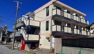 【外観】《鉄骨造!徒歩10分以内》千葉県柏市北柏台一棟マンション