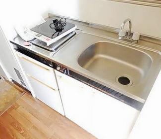 【キッチン】《鉄骨造!徒歩10分以内》千葉県柏市北柏台一棟マンション