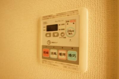 雨の日のお洗濯に便利な「浴室乾燥機」