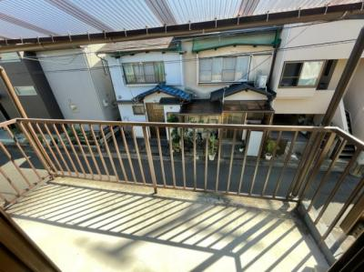 【バルコニー】西京区嵐山東海道町