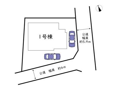 【区画図】姫路市広畑区才/全1棟