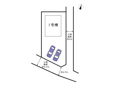 【区画図】姫路市飾磨区英賀 2期/全1棟