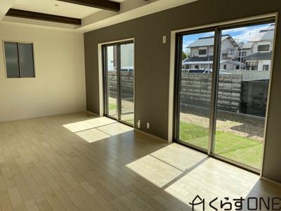 【居間・リビング】姫路市飾磨区英賀 2期/全1棟