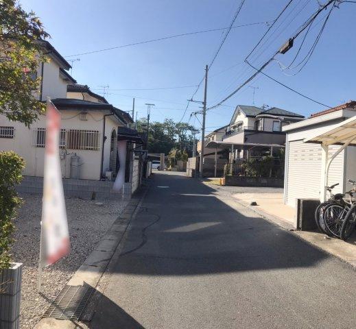 【前面道路含む現地写真】野田市七光台21-1期