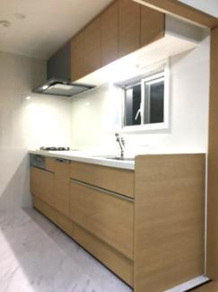 食器洗い洗濯機付きのシステムキッチン