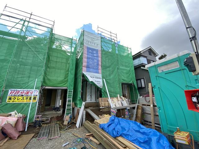 敷地約38.8坪で建物は述べ約28.6坪(1号棟)と約25.9坪(2号棟)の3LDKです。