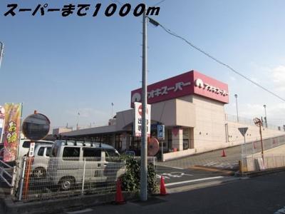 アオキスーパーまで1000m