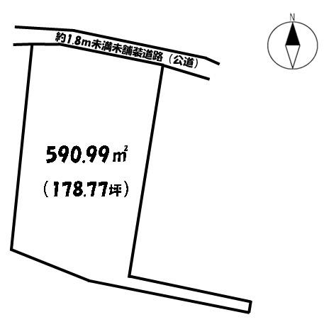 【土地図】龍ヶ崎市下地内