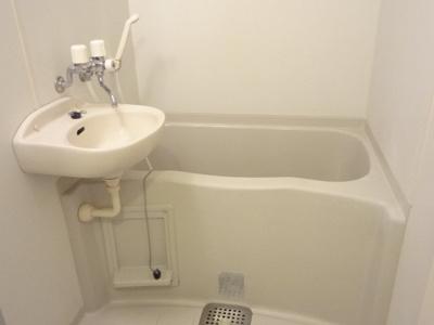 【浴室】レオパレスグランドール