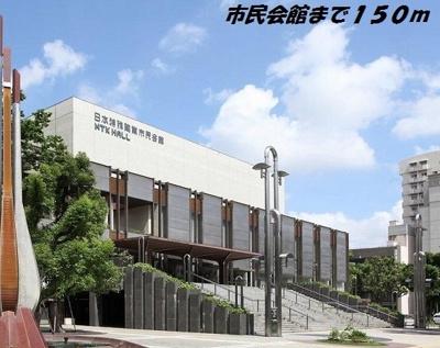 日本特殊陶業市民会館まで150m