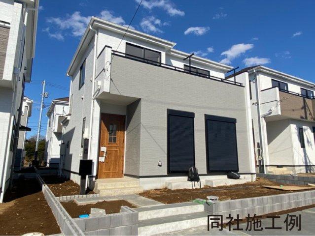 同社同仕様施工例です。新京成線「鎌ヶ谷大仏」駅徒歩23分の全6棟の新築一戸建です。