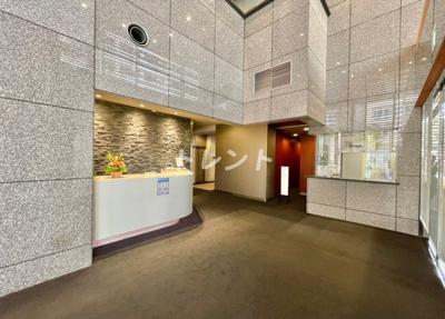 【ロビー】ルネ新宿御苑タワー