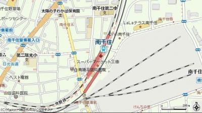 【地図】ミヤテラス