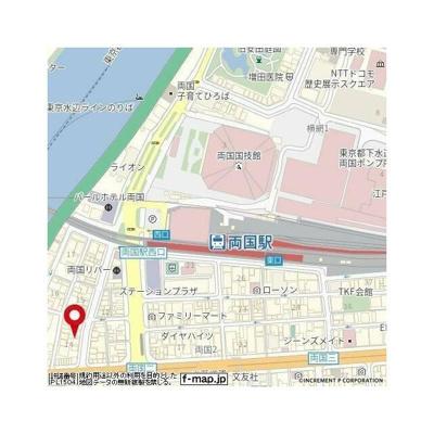 【地図】エテルノ両国リバーサイド(エテルノリョウゴクリバーサイド)