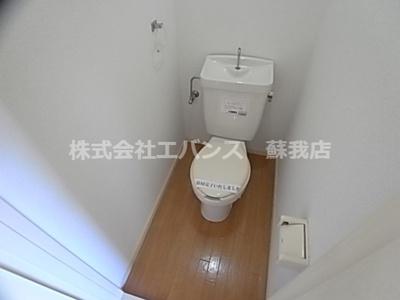 【トイレ】べルレージュ鹿野