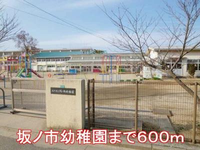 坂ノ市幼稚園まで600m