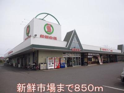 新鮮市場まで850m