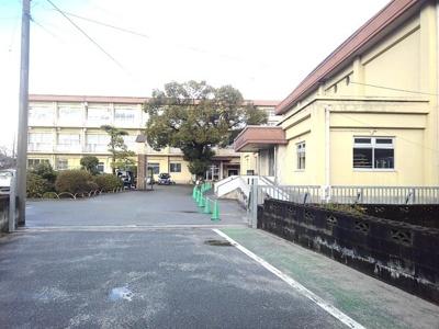 岡山小学校まで1100m