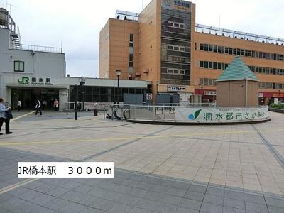 JR橋本駅まで3000m