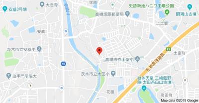 【地図】アジュール塚原 (株)Roots