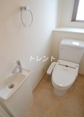 【トイレ】グランハイツ代々木