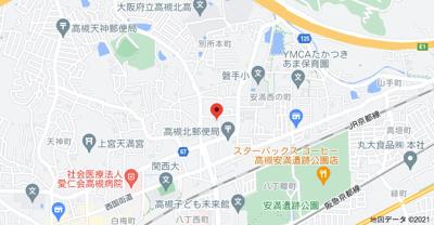【地図】コーポ雲峯 (株)Roots